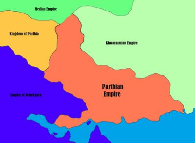 Parthian Empire - Map