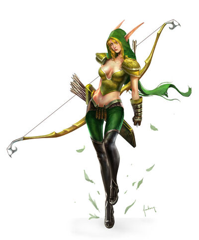 Alleria Windrunner Cover