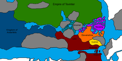 Southern Thedas - Maps