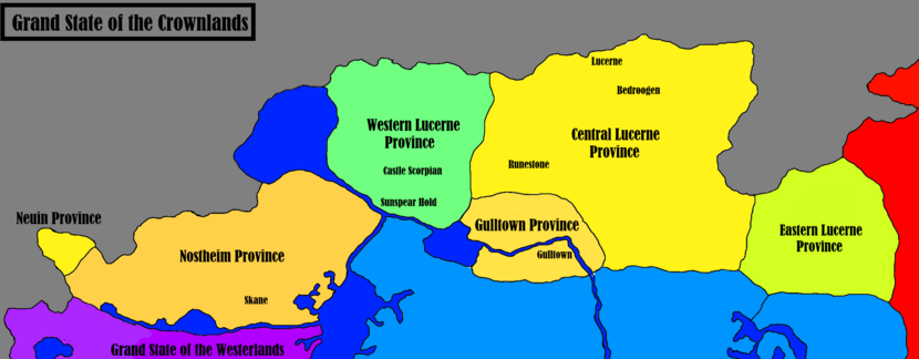 Grand State of the Crowlands - Maps