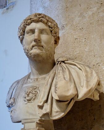 Bust Hadrian Musei Capitolini MC817