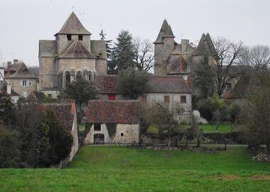Thegra 02 medieval village by montvalentstock-d3bgiql