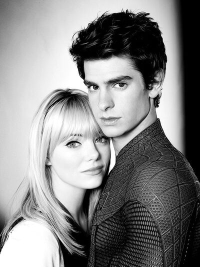 Demi Snow and Andrew Garfield3