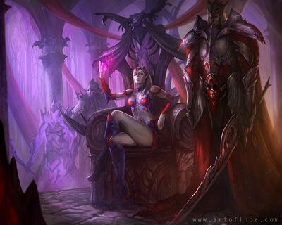 Dragonstone Queen Elf