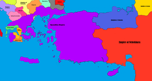 Byzantine-Nehekhara War - Start