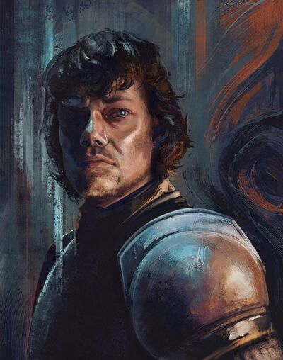 Theon Greyjoy Cover Front Amazing1