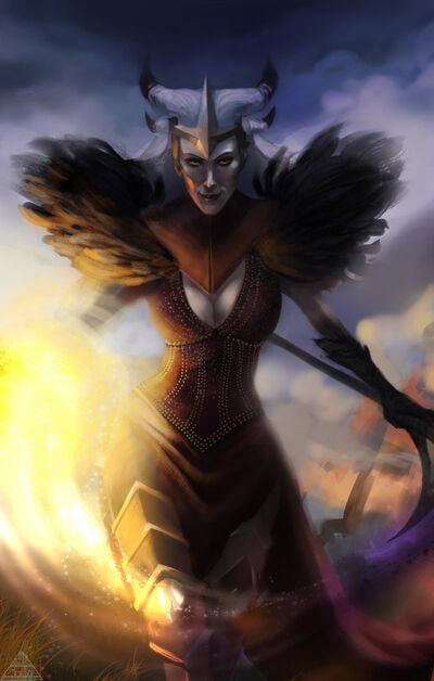 Flemeth - Dark Lady