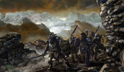 Ancient Orcs of Mordor