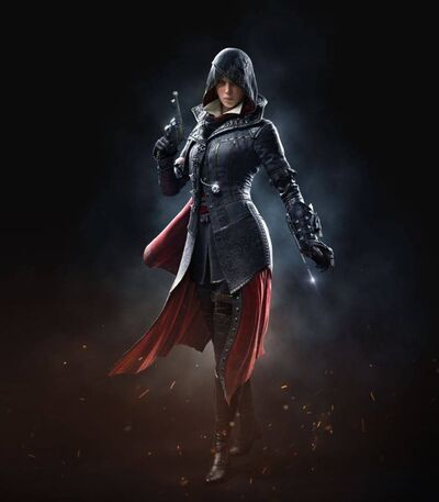 Evie Frye Cover Front Amazing