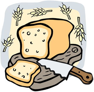Clipart-bread-sliced