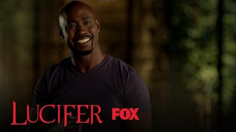 Amenadiel And Lucifer Discover The Final Piece To The Flaming Sword Season 2 Ep