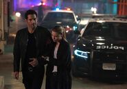 104 Chloe helping Lucifer walk