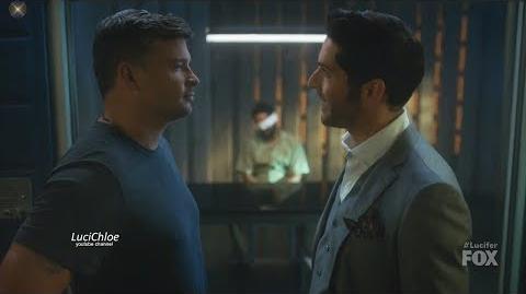 Lucifer 3x10 Luci and Pierce Argue about Sinnerman Season 3 Episode 10 S03E10