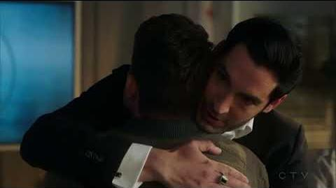 Lucifer S03E24 HD Marcus Pierce Cain is the killer & police scene