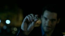102 Lucifer catches bullet