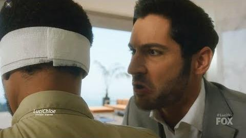 Lucifer 3x10 Luci Coerces Sinnerman for truth - He Calls Maze Season 3 Episode 10 S03E10