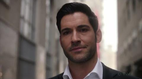 Lucifer S03E24 HD Chloe and Lucifer Talk Before They Walk into a Trap
