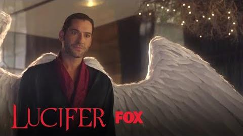 Lucifer Shows Linda That His Wings Have Grown Back - Season 3 Ep