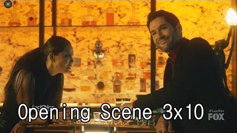 Lucifer 3x10 Opening Scene Luci and Maze in the Club Season 3 Episode 10 S03E10