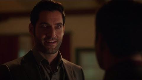 Lucifer's Red Eyes comeback(?) - Lucifer S03E14