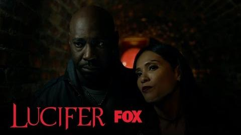 Amenadiel And Maze Spy On Charlotte Season 2 Ep