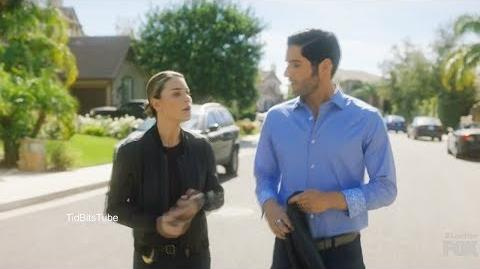 Lucifer 3x13 Chloe begs Lucifer to stay You can't change your partner Season 3 Episode 13 scenes