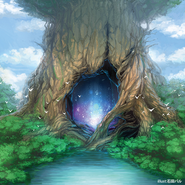 Hollow of the Tukuku Great Tree (Full Art)