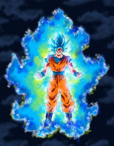 Goku Beyond Blue