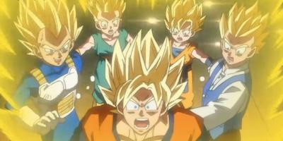 Neo Goku Celestial Saiyan