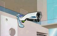 Xbot turning into a gun