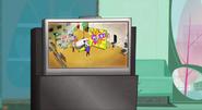 S1E49 Simon's commercial on TV