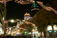 Spain.Barcelona.Porta.Angel.Navidad
