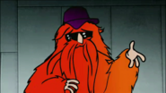S1 E7 hairy Bearded man