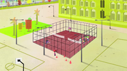S1 E1 at the school's tennis courts 2