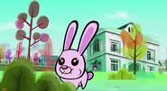S1E49 A rabbit in the garden