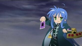 Lucky Star Yu-Gi-Oh! Reference