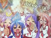 Lucky Star Wallpaper by Chiibi Neko