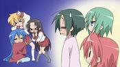 Konata and Gang Episode23
