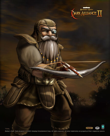 "Baldur's Gate- Dark Alliance II - Borador ""Goldhand"""