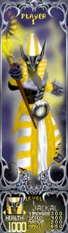 Gauntlet Dark Legacy - Yellow Jackal (Player 1)