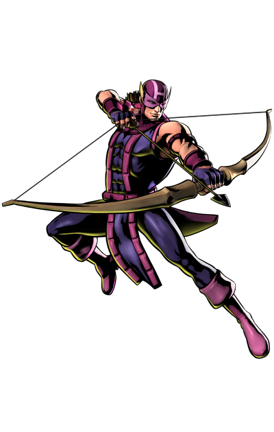 Ultimate Marvel vs. Capcom 3 - Marvel Comics Characters - Hawkeye
