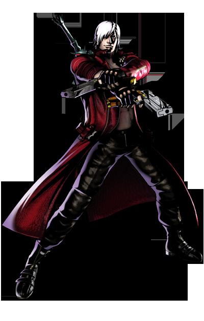 Ultimate Marvel vs. Capcom 3 - Capcom Characters - Dante