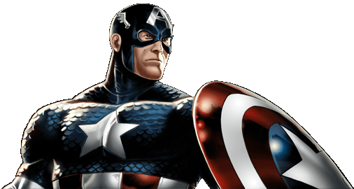 Marvel- Avengers Alliance - Dialogue Artwork - Captain America (Classic Costume)