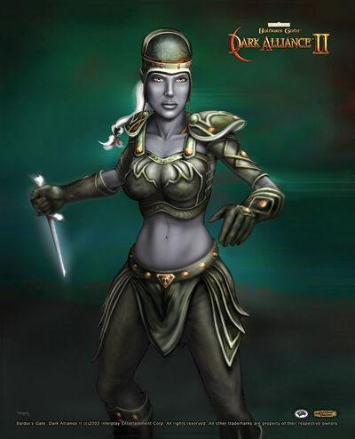 Baldur's Gate- Dark Alliance II - Vhaidra Uoswiir