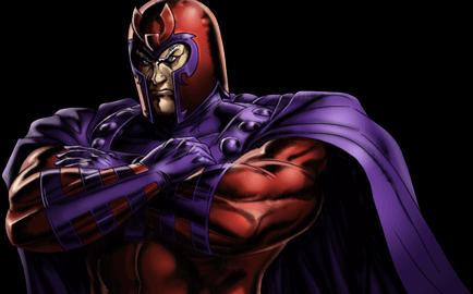 Marvel Avengers Alliance - Dialogue Artwork - Magneto