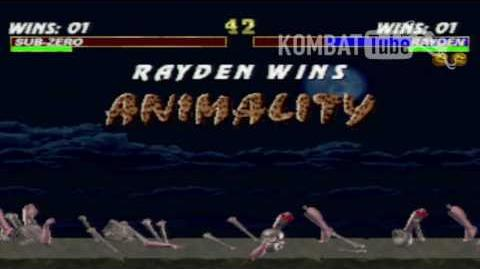 Mortal Kombat 3 - Animalities - Rayden