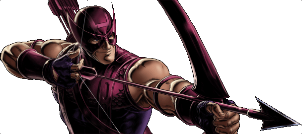 Marvel- Avengers Alliance - Dialogue Artwork - Classic Hawkeye