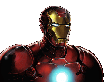 Marvel Avengers Alliance - Dialogue Artwork - Iron Man (Armor Model 35)