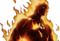 Marvel Avengers Alliance - Dialogue Artwork - The Human Torch (Classic).png
