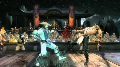 Mortal Kombat (2011) - Gameplay - Raiden